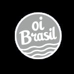 OI BRASIL logo gris