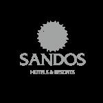 SANDOS logo gris