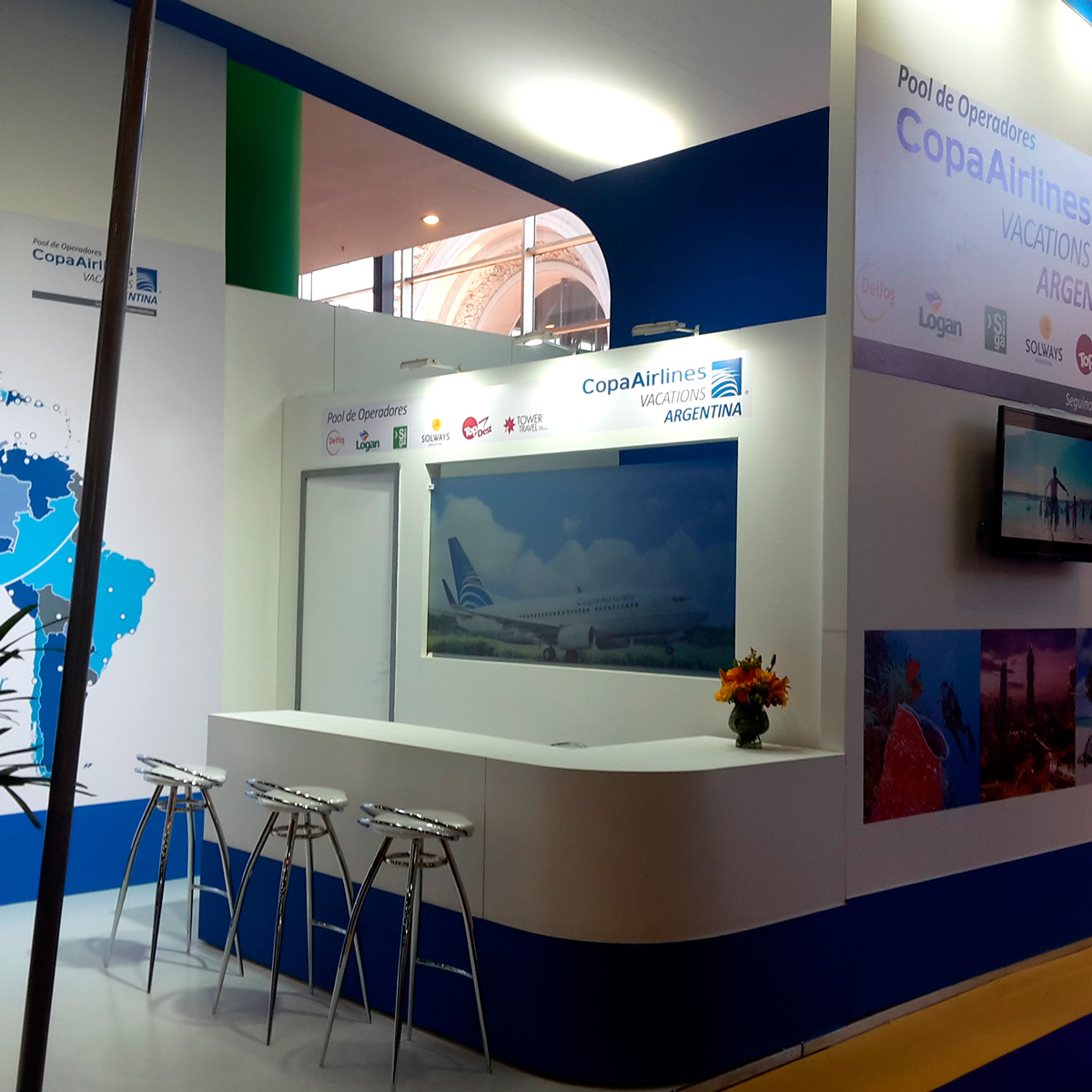 Stand Copa Vacations
